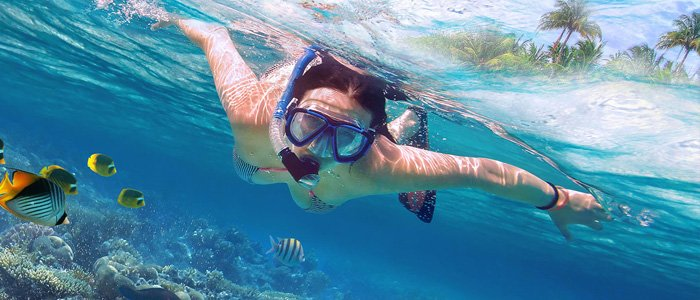 Isla Mujeres Palace includes snorkeling activities