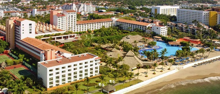 Melia Puerto Vallarta Offers All Inclusive Honeymoon And Vacation Packages This Oceanfront Beach Resort Is Located In Marina