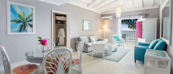 Oceanfront Family Suite at Sugar Bay Barbados