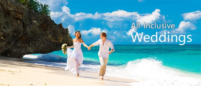 Book your all inclusive destination wedding today
