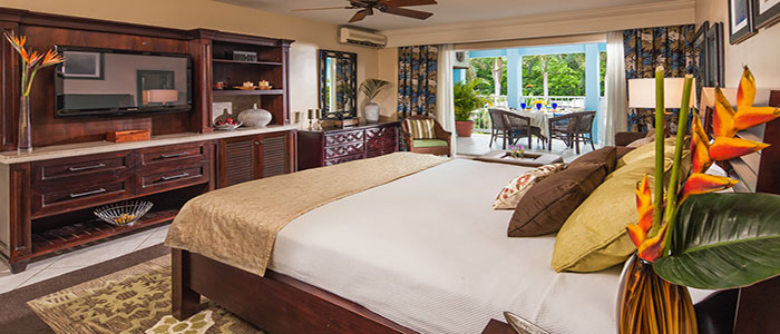 Caribbean Luxury Family Sized Room - TBFK