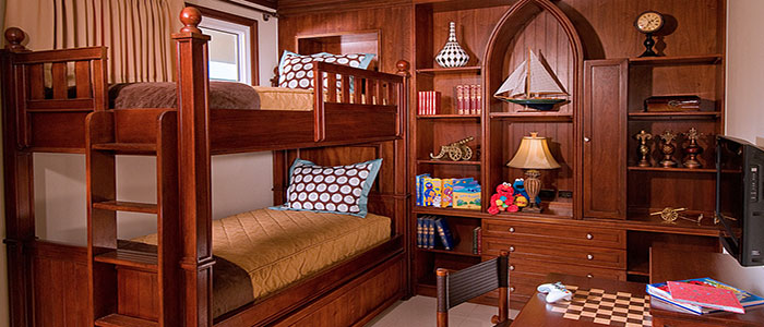 Italian Oceanview Concierge Family Suite with Kids Room - T2