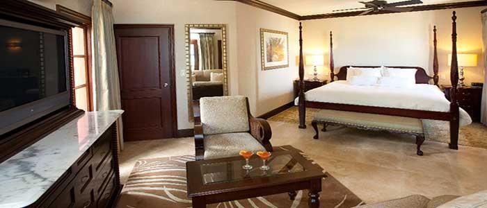 Caribbean Honeymoon Beachside Butler suite