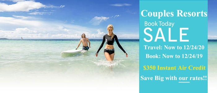 Couples Resorts Book Today SALE