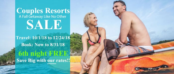 Save BIG with Couples Resort Sale!!