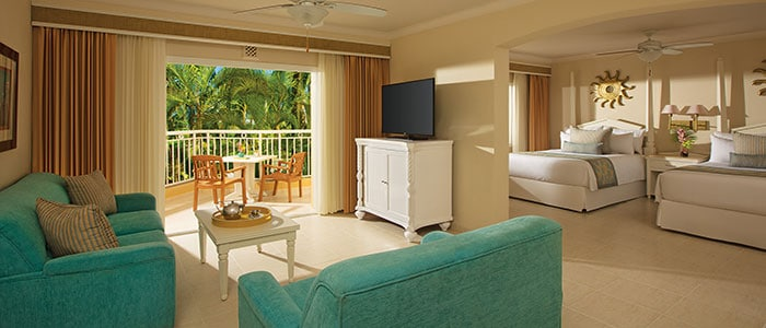 Preferred Club Junior Suite Tropical View