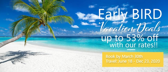 Excellence Resorts Early Bird Vacation Deals