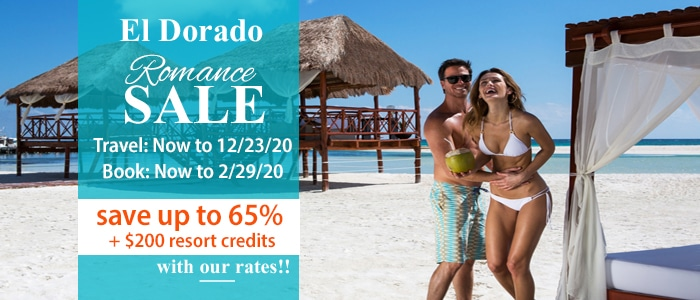 El Dorado Resorts Romance Sale