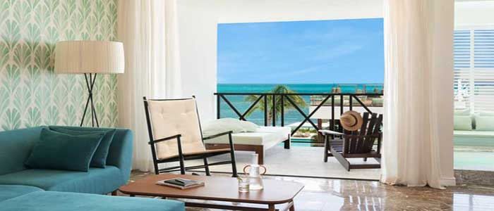 Excellence Club Junior Suite with Partial Ocean Views