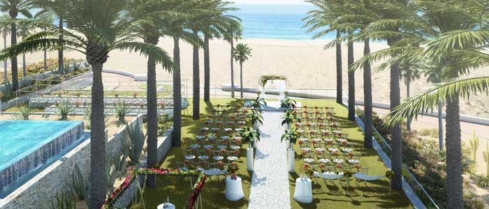Book your destination wedding at Hard Rock Los Cabos