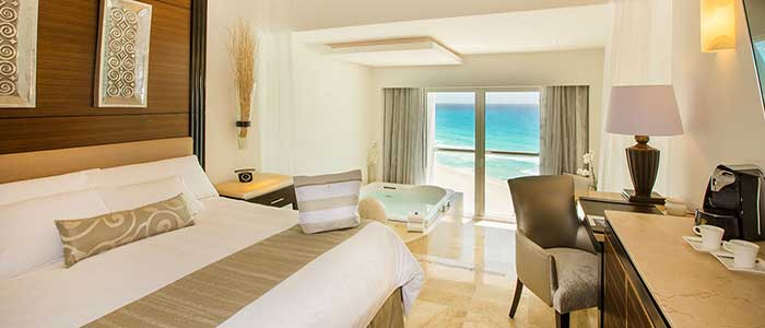 Oceanfront Honeymoon Suite at Le Blanc Cancun