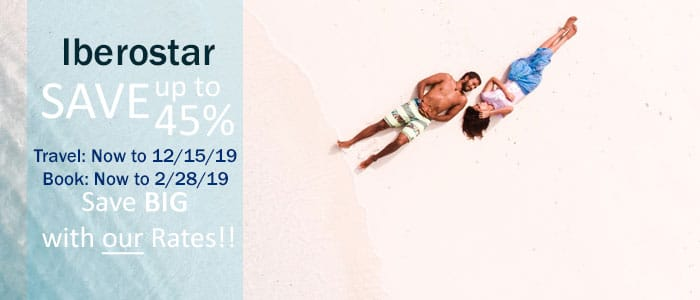 Iberostar - February SALE, book by 2/28/19