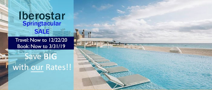 Iberostar - Springtacular Savings - Book TODAY!!