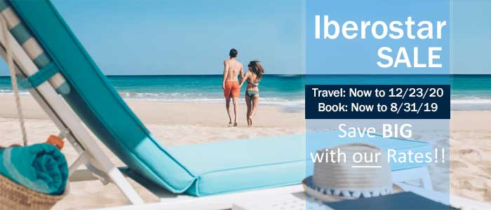 Iberostar Resorts - Travel SALE - Book 'til 8/31/19