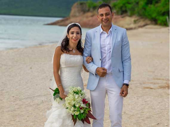 Destination Wedding at Hermitage Bay