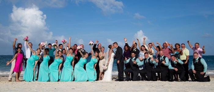 Average wedding cost mexico
