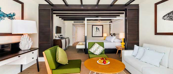 Beautiful modern tropical suites at Ocean Riviera Paradise Cancun
