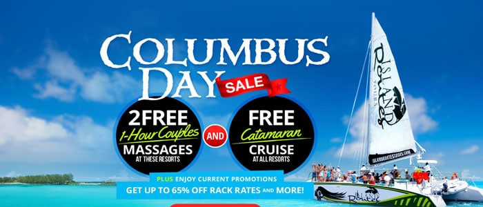Columbus Day Sale with Sandals Resorts - extended to October 18th