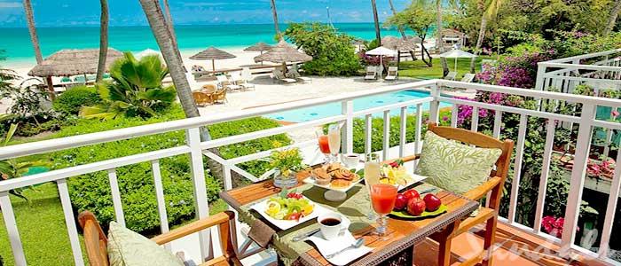 Caribbean Honeymoon Beachfront Grande Luxe Club Level Room - HGB