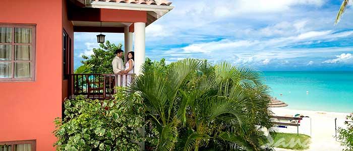 Caribbean Honeymoon Beachfront Butler Suite - OHS
