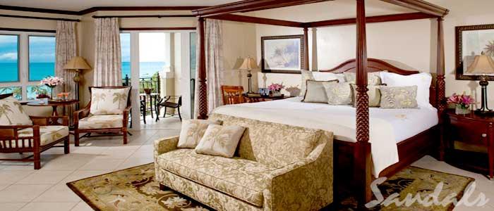 Mediterranean Oceanview Grande Luxe Club Level Suite - GO