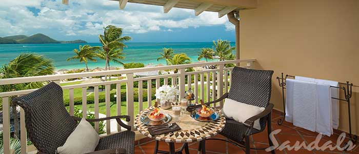 Caribbean Honeymoon Beachview Penthouse Club Level - PC