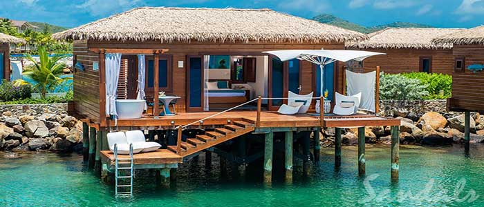 Over-the-Water Honeymoon Butler Bungalow - OWB