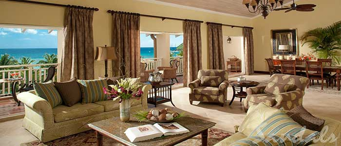 President Clinton Oceanfront Penthouse Two Story Butler Suite - PS