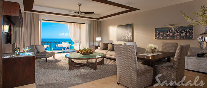 Italian Oceanview PH. 1 Br. SkyPool Butler Suite w/Balcony Tranquility Soaking Tub - PSKY