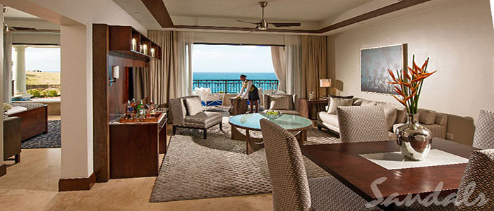 Italian Oceanview 1 Br. SkyPool Butler Suite w/Balcony Tranquility Soaking Tub - 1SKY