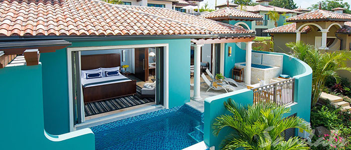 South Seas One Bedroom Butler Villa with Infinity Edge Pool - M1P