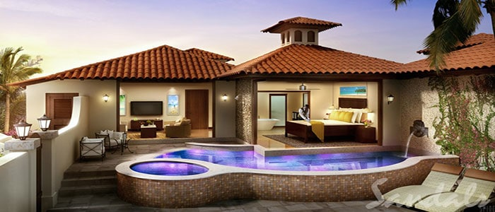 South Seas Honeymoon One Bedroom Butler Villa with Private Pool Sanctuary - 1BP