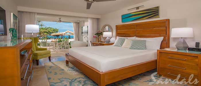 Beachfront Honeymoon Walkout Club Level Junior Suite w/Patio Tranquility Soaking Tub - WGBT