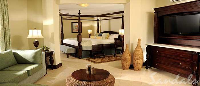 Millionaire Honeymoon Penthouse One Bedroom Butler Suite - PS