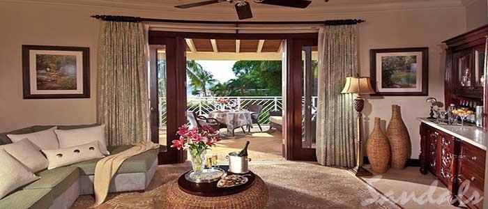 Millionaire Honeymoon Oceanview Penthouse One Bedroom Butler Suite - OP