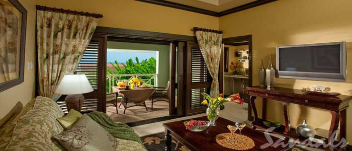 Butler Village Honeymoon Oceanview One Bedroom Poolside Villa Suite - HV