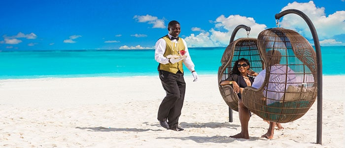 Butler Service at it's best - Sandals Resorts