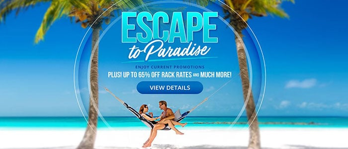 Sandals Resorts - Escape to Paradise SALE - Book Now to