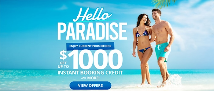 Sandals Hello Paradise Sale, Book til 3/13