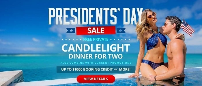 Sandals Resorts Presidents Day Sale Extended!!