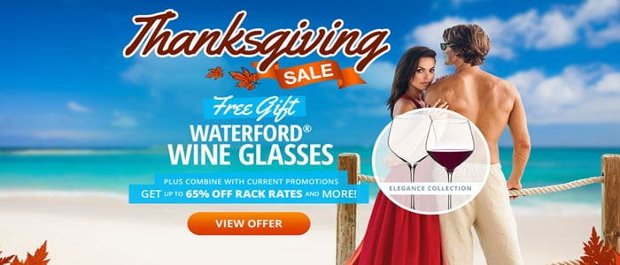 Sandals Thanksgiving SALE