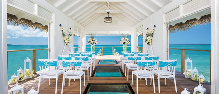 Let us help you book your stress free wedding today at Sandals