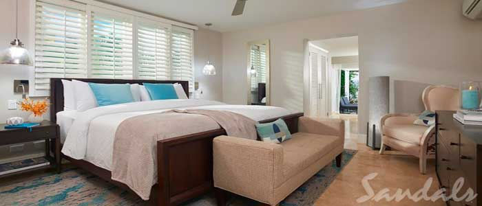 Royal English One Bedroom Walkout Butler Villa Suite w/ Patio Tranquility Soaking Tub - WVS1