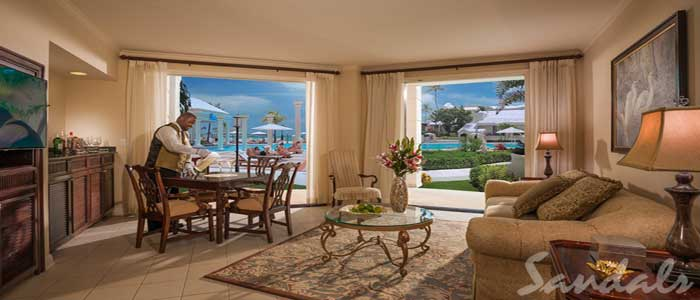 Windsor Oceanview Walkout One Bedroom Butler Royal Suite - WWS