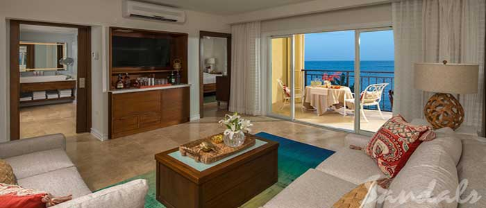 Italian Beachfront One Bedroom Butler Suite - IB1