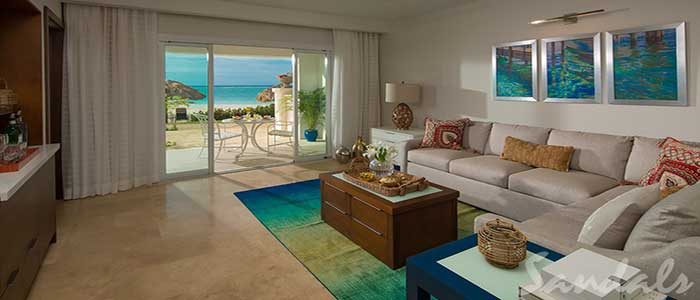 Italian Beachfront One Bedroom Walkout Butler Suite - IW1