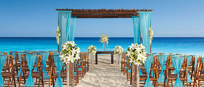 Ask us about booking your wedding at Secrets Capri