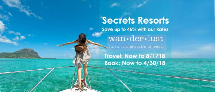 Save up to 45% with our Rates!!