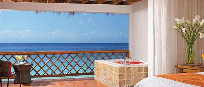 Suite Ocean View with Balcony Whirlpool