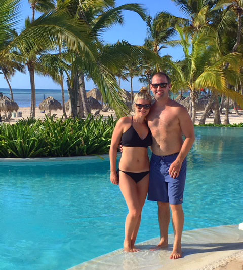 Another happy client at Secrets Cap Cana